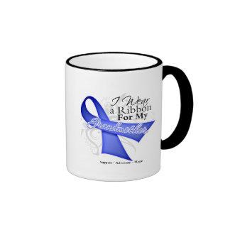 Grandmother Periwinkle Ribbon - Stomach Cancer Coffee Mug