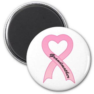 Grandmother Pink Ribbon Magnet