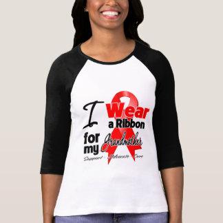 Grandmother - Red Ribbon Awareness Tee Shirt