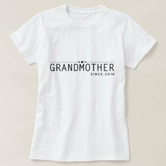 Grandmother Since 2016 - Black White Vintage Shirt