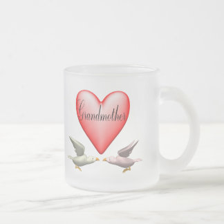 Grandmother T-shirts and Gifts For Her Frosted Glass Coffee Mug