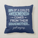 "GRANDMOTHER THROW PILLOW<br><div class=""desc"">Not sold in stores</div>"