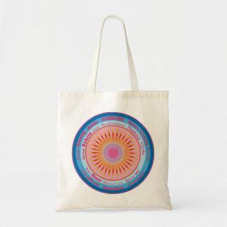 Grandmother World Budget Tote Bag