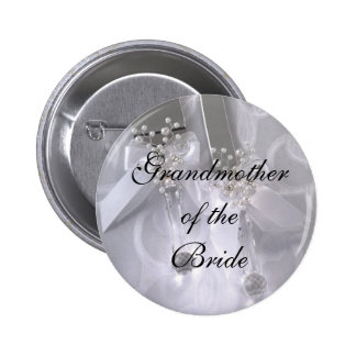 Grandmotherof theBride 2 Inch Round Button