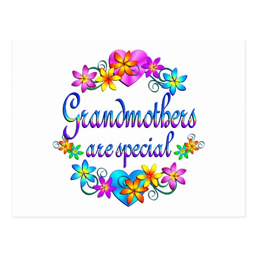 Grandmothers are Special Postcards