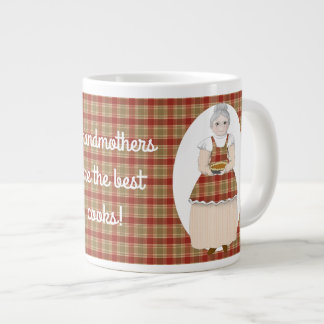 Grandmothers are the Best Cooks Giant Coffee Mug