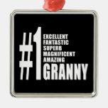 Grandmothers Birthdays : Number One Granny Christmas Ornament