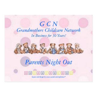 Grandmothers Childcare Network Postcard