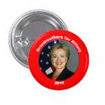 Grandmothers for Hillary Pinback Button