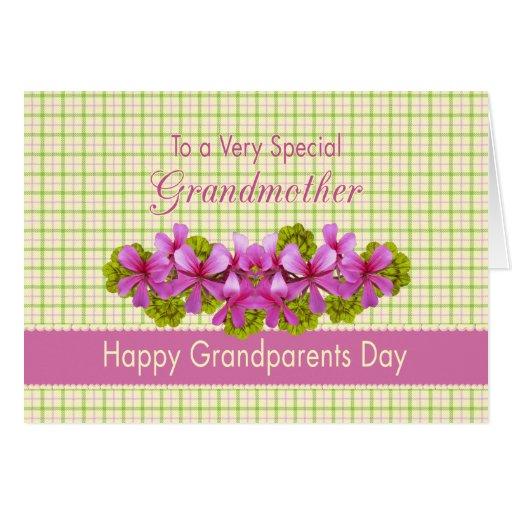 Grandmother's Garden Greeting Card
