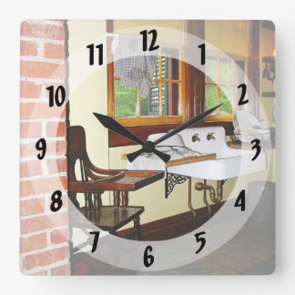 Grandmother's Kitchen Square Wall Clock