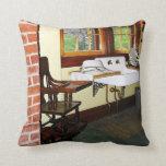 Grandmother's Kitchen Throw Pillows