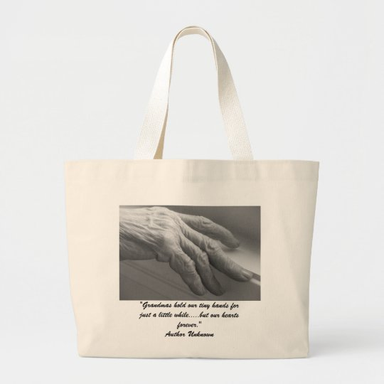 Grandmothers Large Tote Bag
