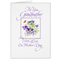 Grandmother's Mother's Day Card