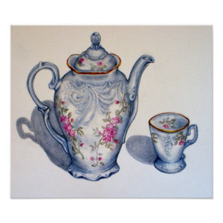 Grandmother's Tea CANVAS PRINT