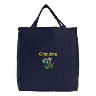 Grandmothers Turtle Embroidered Bag