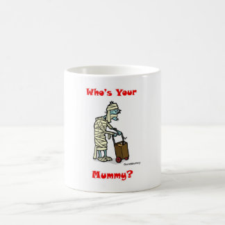GrandMummy Classic White Coffee Mug