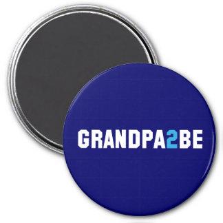 Grandpa2Be - Abuelo a ser Imán Redondo 7 Cm
