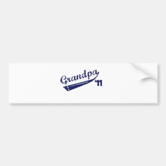 Grandpa '11 T-shirt Bumper Stickers