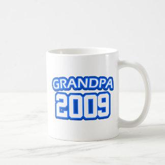 Grandpa 2009 coffee mug