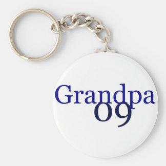 Grandpa 2009 keychain