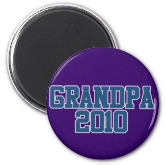 Grandpa 2010 2 inch round magnet