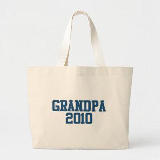 Grandpa 2010 canvas bag