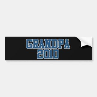 Grandpa 2010 bumper sticker