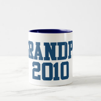 Grandpa 2010 Two-Tone coffee mug