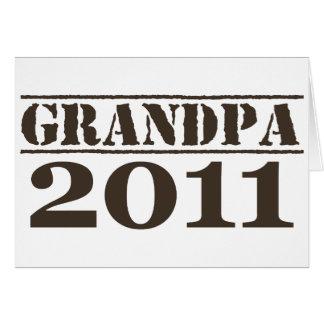 Grandpa 2011 card