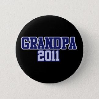 Grandpa 2011 pinback button