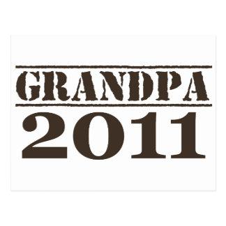 Grandpa 2011 postcard