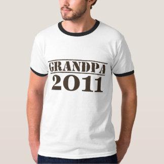Grandpa 2011 tee shirt