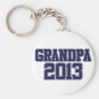 Grandpa 2013 keychain