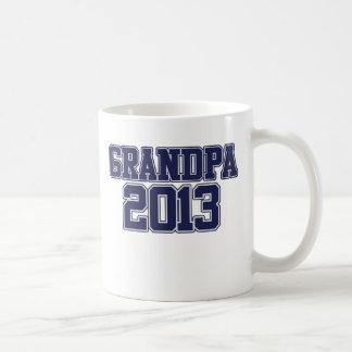 Grandpa 2013 classic white coffee mug