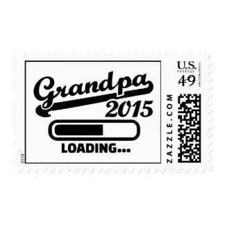 Grandpa 2015 postage