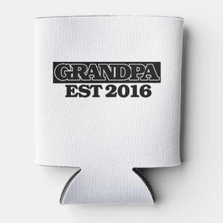 Grandpa 2016 can cooler
