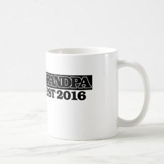 Grandpa 2016 coffee mug