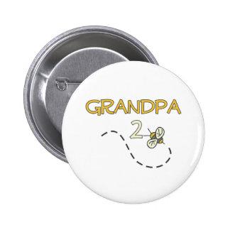 Grandpa 2 Bee 2 Inch Round Button