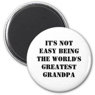 Grandpa 2 Inch Round Magnet