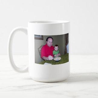 Grandpa and baby A Classic White Coffee Mug