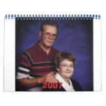 Grandpa and Grandma, 2007 Calendar