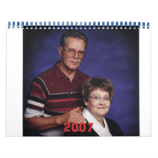Grandpa and Grandma, 2007 Calendar