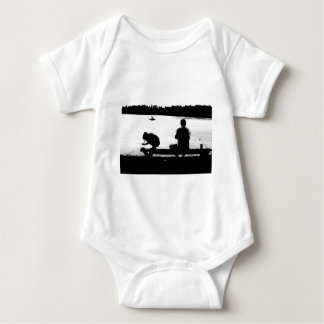 grandpa and me baby bodysuit