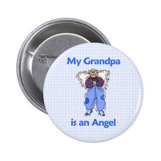Grandpa Angel 2 Inch Round Button