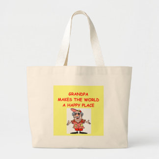 grandpa canvas bag