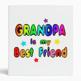 Grandpa Best Friend 3 Ring Binder