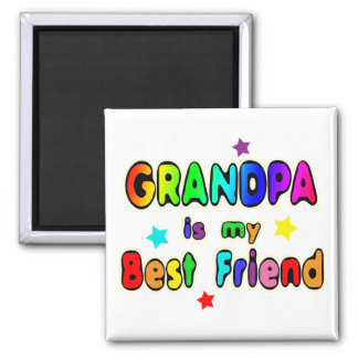 Grandpa Best Friend Magnet