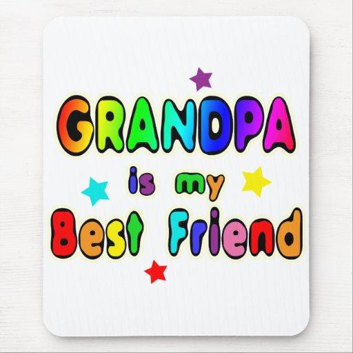 Grandpa Best Friend Mouse Pads