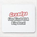Grandpa...Big Deal Mouse Pad